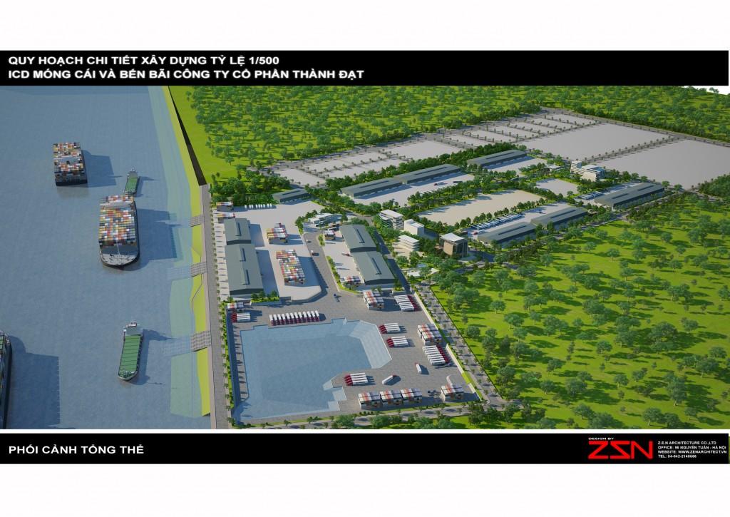 Cảng nội địa quốc tế Móng Cái - Quảng Ninh